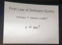 First Law of Software